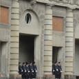 王宮の衛兵交代